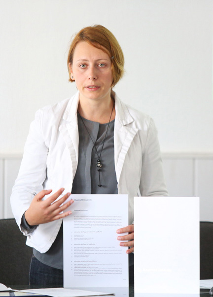Dorina Baltag, expert