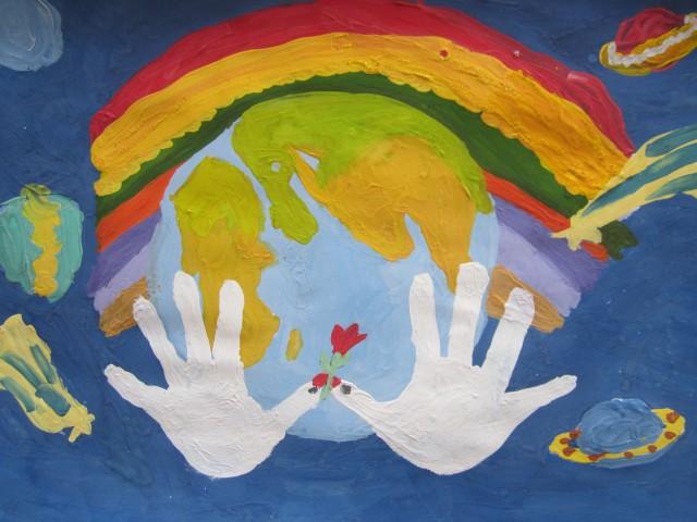 Рисунок мир в котором мы живем глазами ребенка